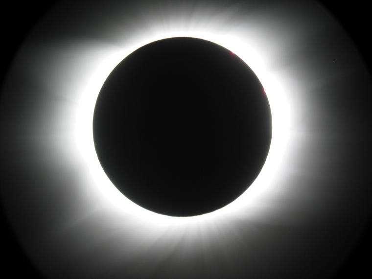 Eclipse Totale de Soleil visible en Inde au Népal et en Chine