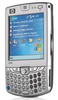 Le smartphone HP iPaq 6515