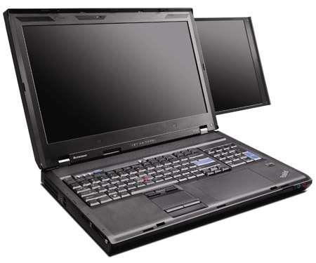 Le Thinkpad W700ds. © Lenovo