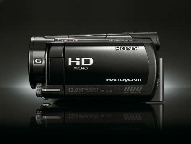 Le Sony HDR-XR520VE, un caméscope haut de gamme. © Sony