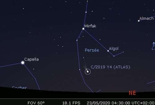 Observez les fragments de la comète Atlas (C/2019 Y4)