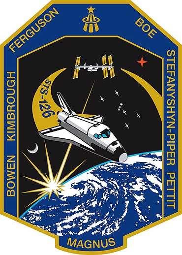 Logo officiel de la mission STS-126