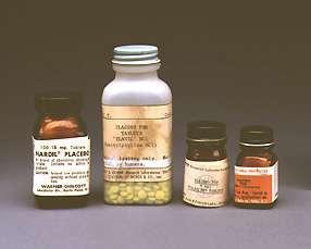 Les médicaments placébo n'ont pas tous la même efficacité. Plus ils sont chers et colorés, plus l'effet placébo est intense. © National Institute of Health, Wikipédia, DP