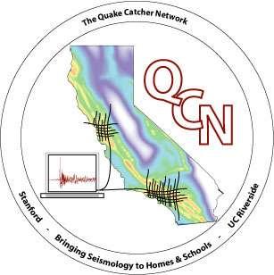 Le Quake-Catcher Network, un réseau de bénévoles pour surveiller les soubresauts de la planète. © QCN