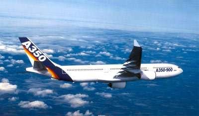 Le futur A350, pomme de discorde entre Etats-Unis et Europe.