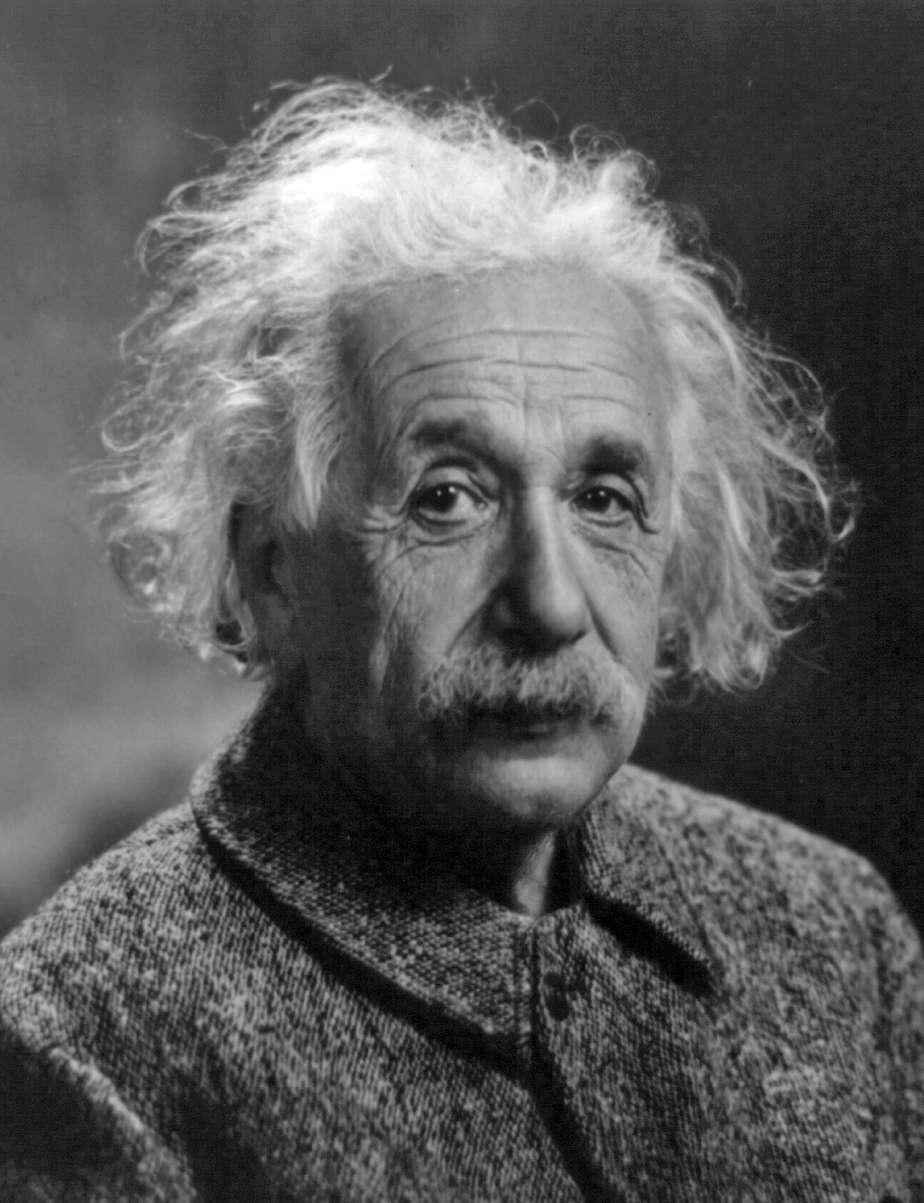 Albert Einstein est considéré comme le père du laser et du saser, puisqu'on lui doit, entre autres, la découverte de l'effet laser et des phonons. © DP