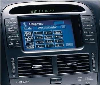 Ordinateur de bord de la Lexus