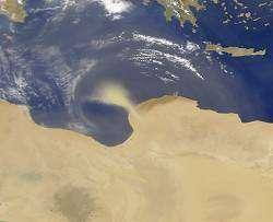 L'action de la poussière du Sahara sur le climat