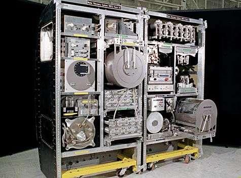Système de purification devant permettre de récupérer 92% de l'eau présente dans l'urine de l'équipage. Crédit Nasa