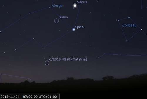 Observez la comète Catalina