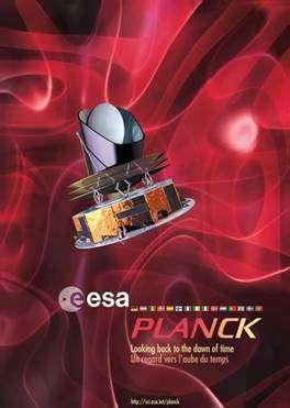 Emblème de la mission Planck.