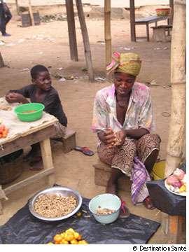 Les pays d'Afrique sub-saharienne sont les bons élèves en ce qui concerne la contamination du virus du Sida. © Destination Santé
