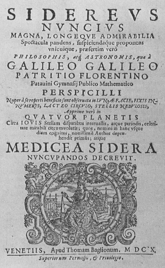 Le Messager Céleste de Galilée sera la vedette de la vente aux enchères organisée par Christie's. © DR