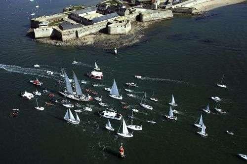 Le retour triomphal du Tara à Lorient. Crédit : Tara Arctic.