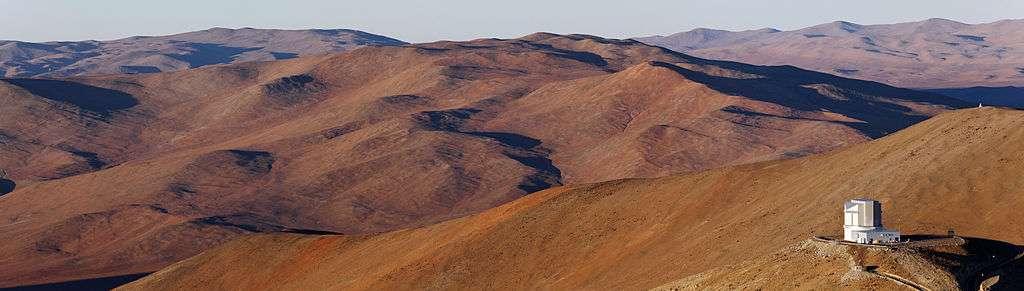 Le désert d'Atacama est une région hyperaride située dans le nord du Chili. C'est l'endroit qui abriterait les zones recevant le moins de précipitations au monde. À Arica, il tombe en moyenne 0,8 mm de pluie par an. © B. Tafreshi, Eso, cc by sa 3.0