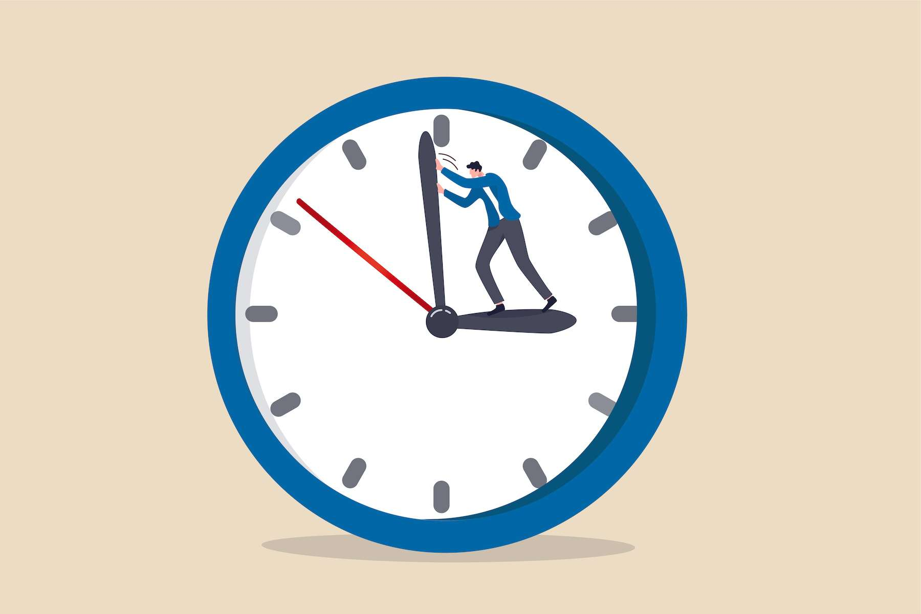 L'âge biologique peut s'inverser en suivant un mode de vie sain et un régime strict durant 8 semaines. © Nuthawut, Adobe Stock