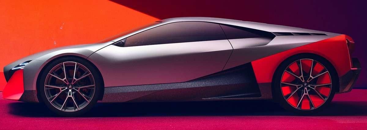 Avec la Vision M Next, BMW nous livre sa vision de ses futures voitures électriques. © BMW
