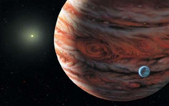 Les géantes gazeuses joueraient un rôle important dans la formation des systèmes planétaires. Crédit : Lynette Cook