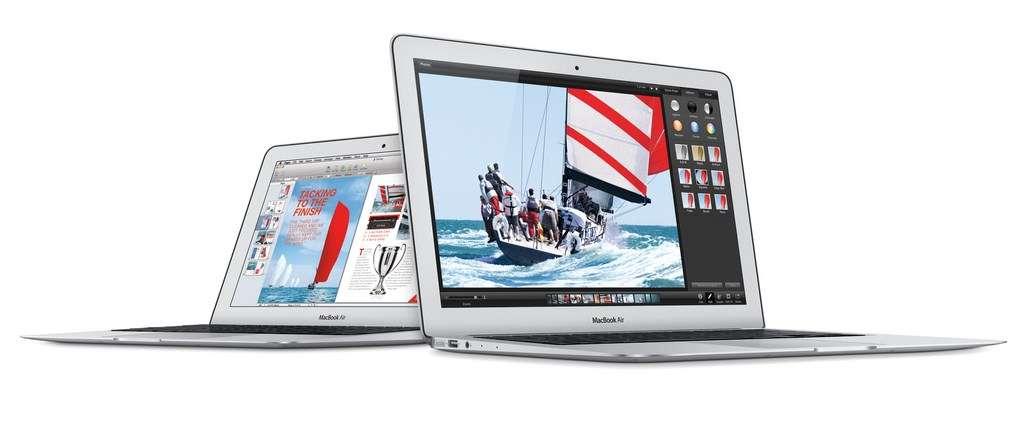 Selon les dernières rumeurs, Apple pourrait profiter de la conférence qu'il organise lundi 9 mars pour dévoiler un nouveau MacBook Air équipé d'un écran 12 pouces Retina et d'un clavier bord à bord. © Apple