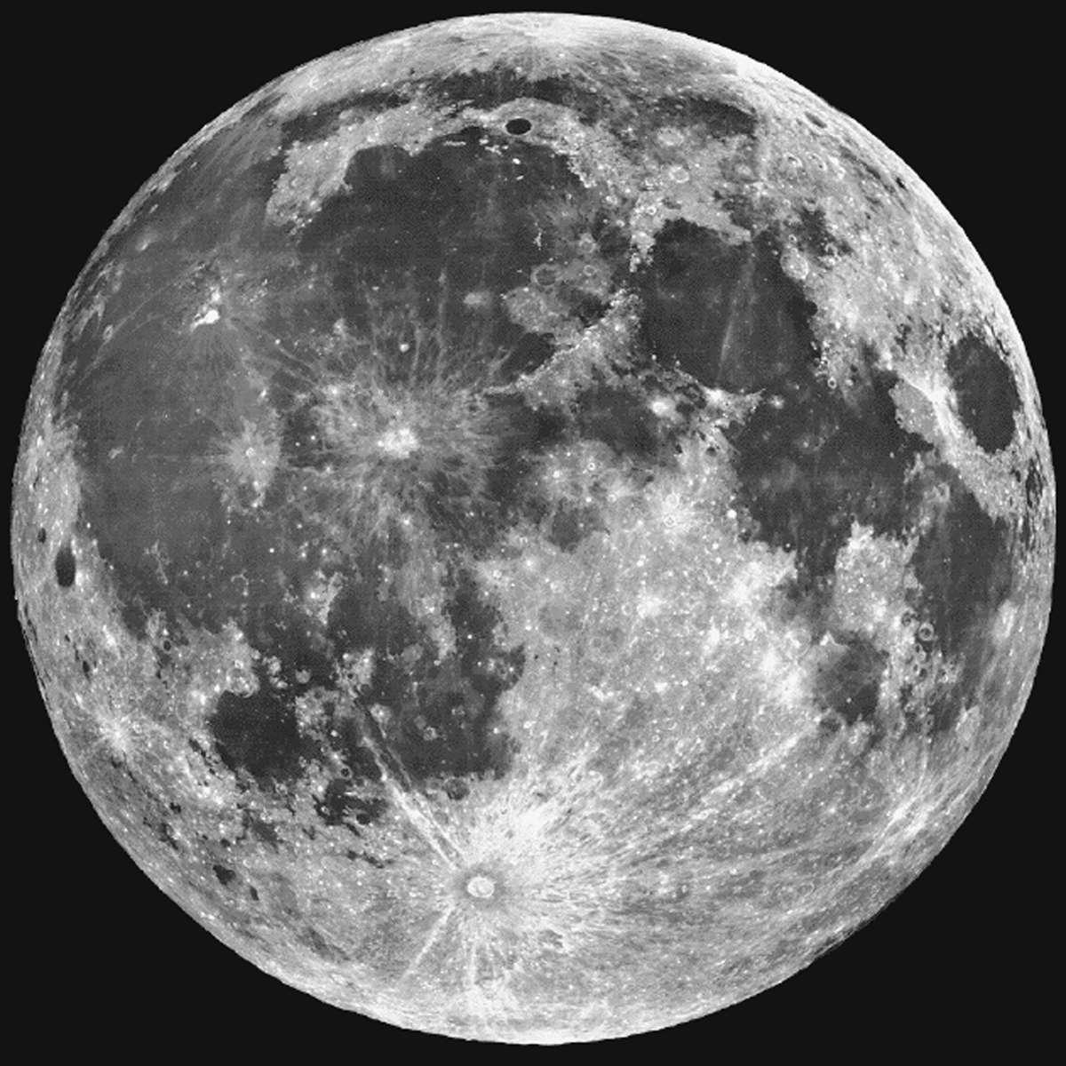 Lors de la Pleine Lune, les trajectoires de paquets de protons sont perturbées, il faut donc en tenir compte pour chasser le boson de Higgs. © Lick Observatory