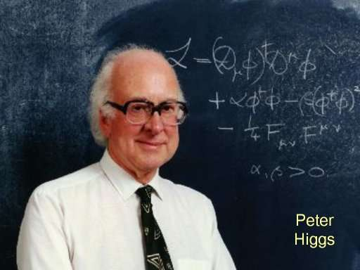 Peter Higgs. Crédit : Peter Tuffy