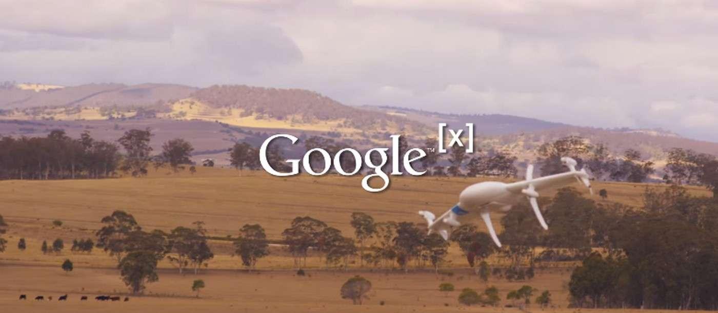 Google travaille depuis 2012 sur son projet de drone-livreur baptisé Wing. Le géant du Web a réalisé des premiers essais concluants l'année dernière en Australie. © Google