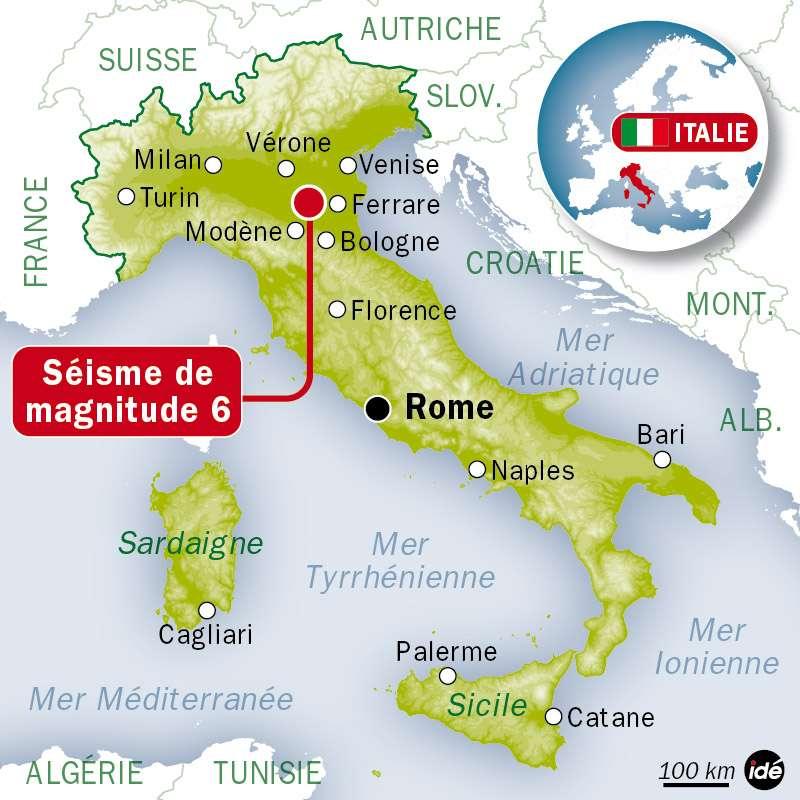 La Méditerranée est considérée comme une région sismique active suite à la convergence vers le nord de la plaque africaine (4 à 10 mm par an) qui subduit sous les plaques adriatique et eurasienne. © Idé