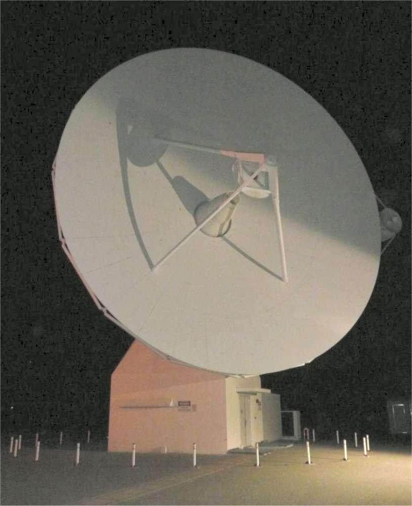 L'antenne installée près de Perth (État d'Australie-Occidentale) fait partie du réseau de suivi Estrack (European Space Tracking), qui sert notamment à chaque tir d'une fusée Ariane. © Esa