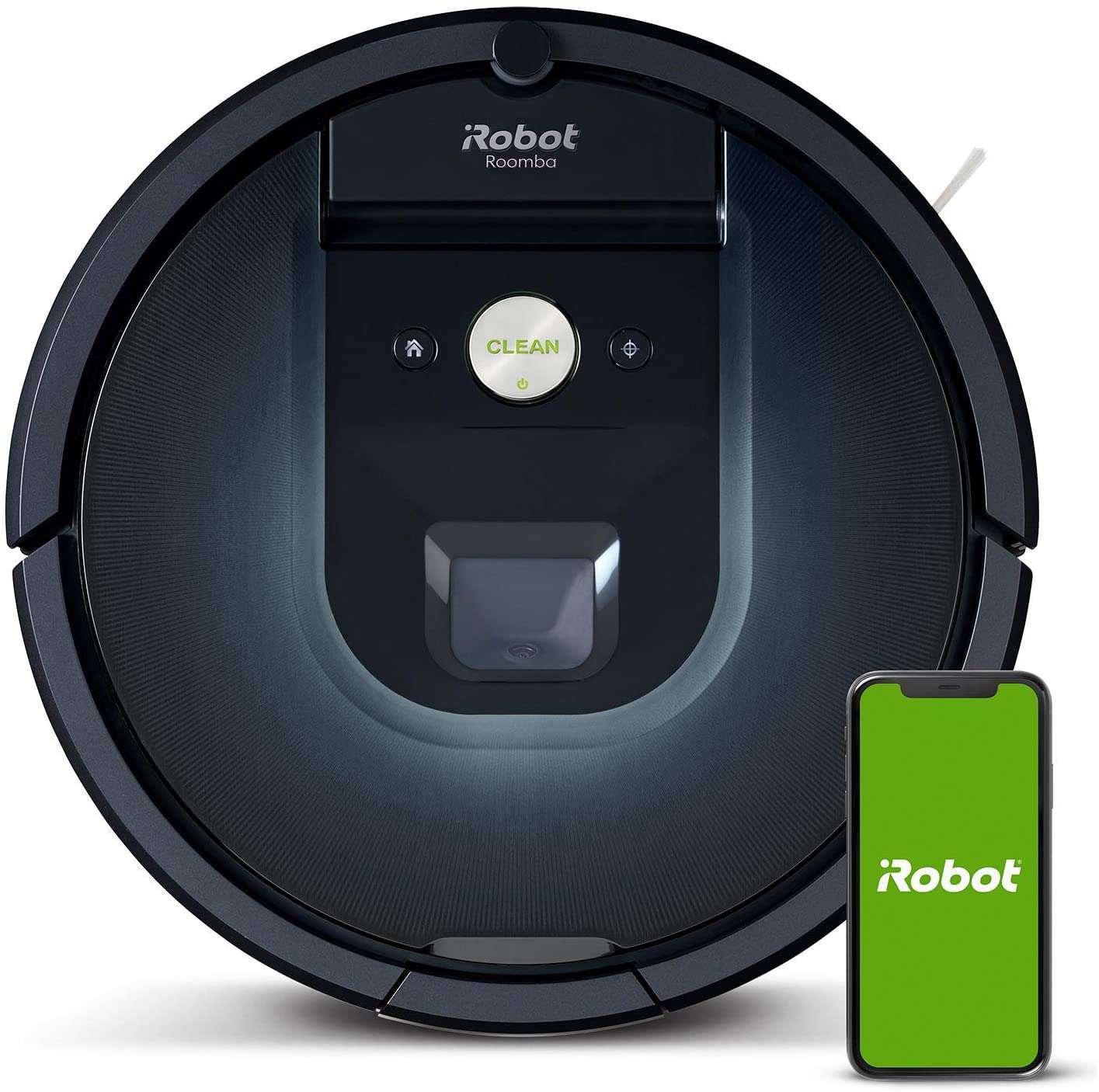 Bon plan : l'aspirateur robot iRobot Roomba 981 © Amazon