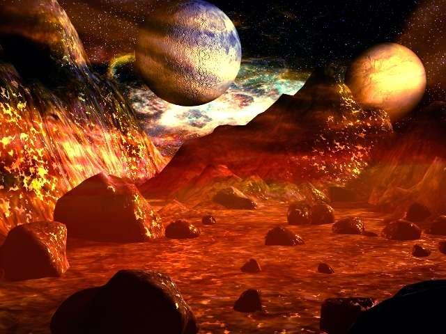La vie existe-t-elle dans d'autres mondes ? Sous quelle forme se présente-t-elle ? Doit-on imaginer qu'elle est nécessairement apparue selon des processus similaires à ceux qui se sont déroulés sur la Terre ou faut-il se préparer à d'autres scénarios ? Les questions sont nombreuses, et les réponses absentes. © Nasa