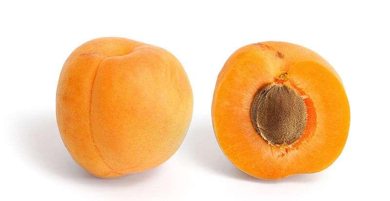 Les abricots sont des fruits d'été, parfaits pour un régime alimentaire sain. © Wikimedia Commons