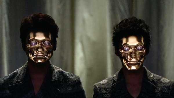 Ces deux personnages ne sont pas des images de synthèse mais de vrais humains maquillés avec la technologie numérique mise au point par le producteur japonais Nobumichi Asai. © Nobumichi Asai