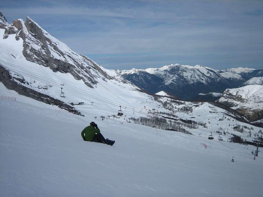 Les stations de ski dans les Pyrénées s'étalent sur six départements. © girolame, Flickr, cc by 2.0
