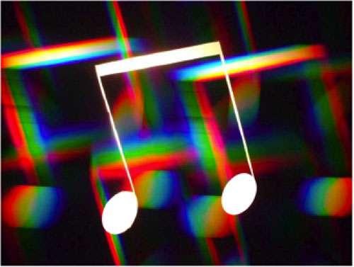 La synopsie est un trouble très rare qui compose l'une des 150 formes de synesthésie. Cette capacité d'entendre en couleur se retrouve chez quelques musiciens et pourrait leur procurer quelques avantages créatifs. © B. Valeur