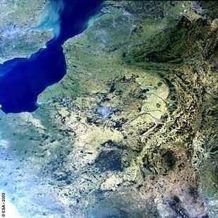 La ville de Paris vue par satellite (ESA)