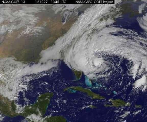 L'ouragan Sandy, des Caraïbes au Québec