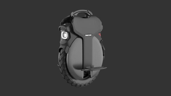 La gyroroue électrique InMotion V11 est équipée d'un puissant éclairage avant et arrière. © InMotion