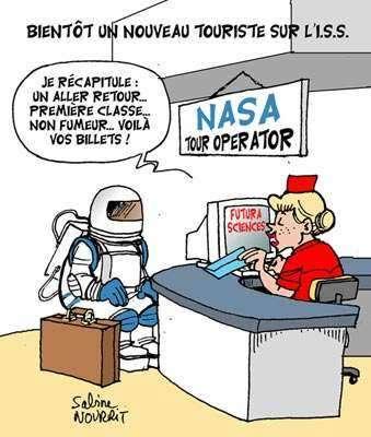 Mark Shuttleworth est le deuxième touriste spatial, après Dennis Tito. © Droits réservés