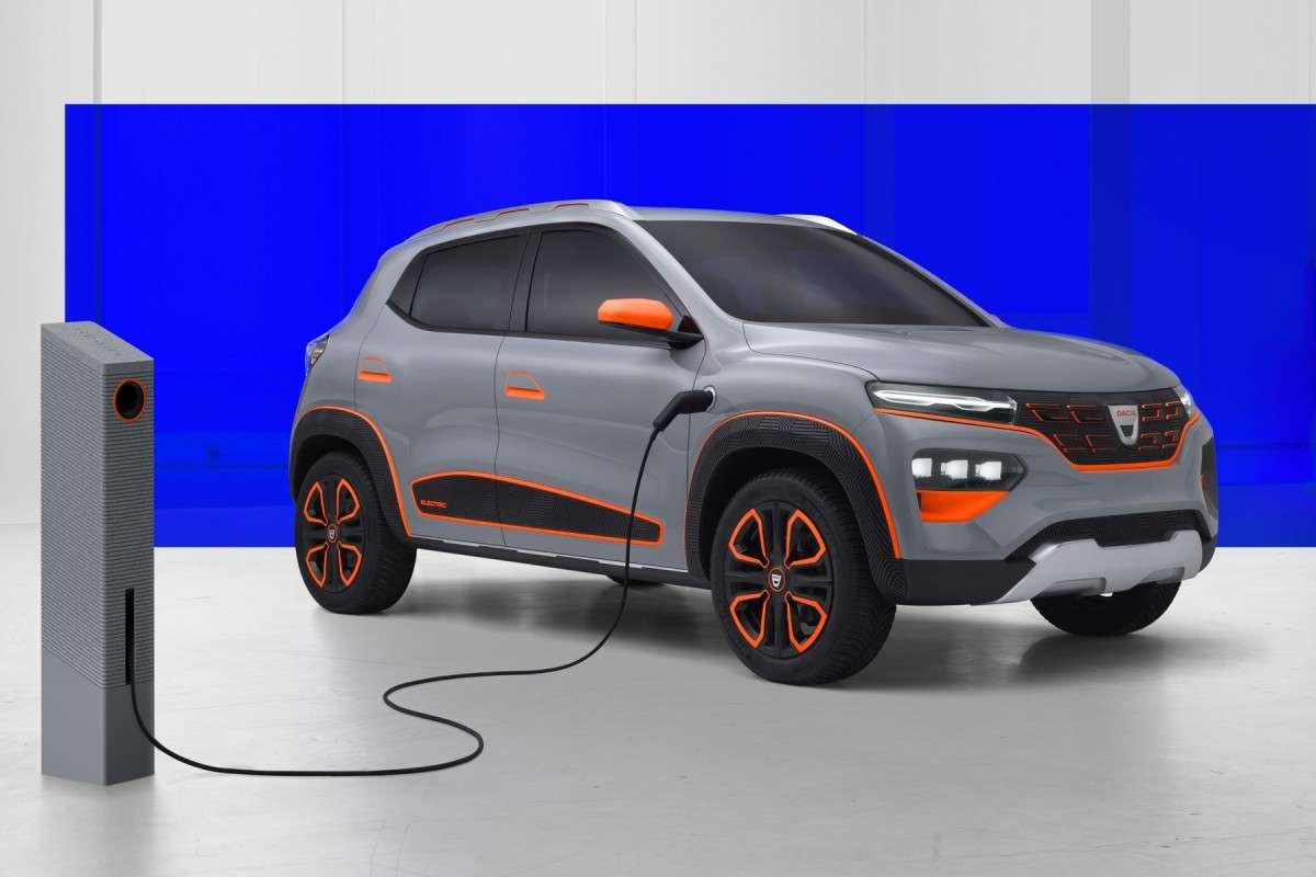 Le Dacia Spring est une copie conforme du Renault City K-ZE vendu en Chine. © Dacia