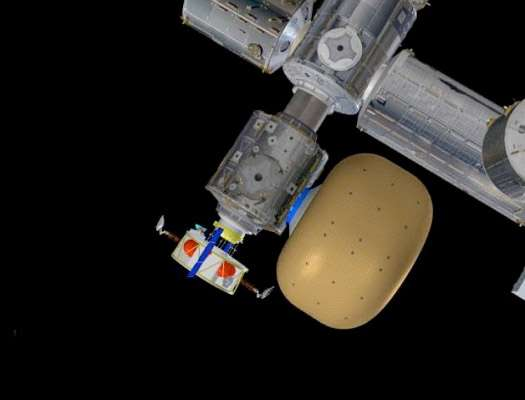 Dans sa gamme de modules gonflables à l'étude, Bigelow Aerospace a plusieurs modèles en développement. Deux prototypes à échelle réduite ont par ailleurs été lancés en 2006 et 2007 (Genesis I et II). © Nasa, Bigelow Aerospace