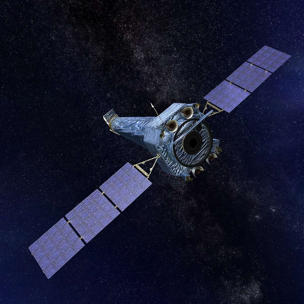 La Nasa a annoncé ce lundi que le télescope spatial à rayons X Chandra était de retour en parfait état après avoir subi une défaillance la semaine dernière. © Nasa, CXC, SAO