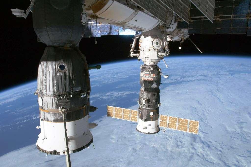 De nombreux cosmonautes ont occupé et continuent à occuper régulièrement la Station spatiale internationale. © Nasa