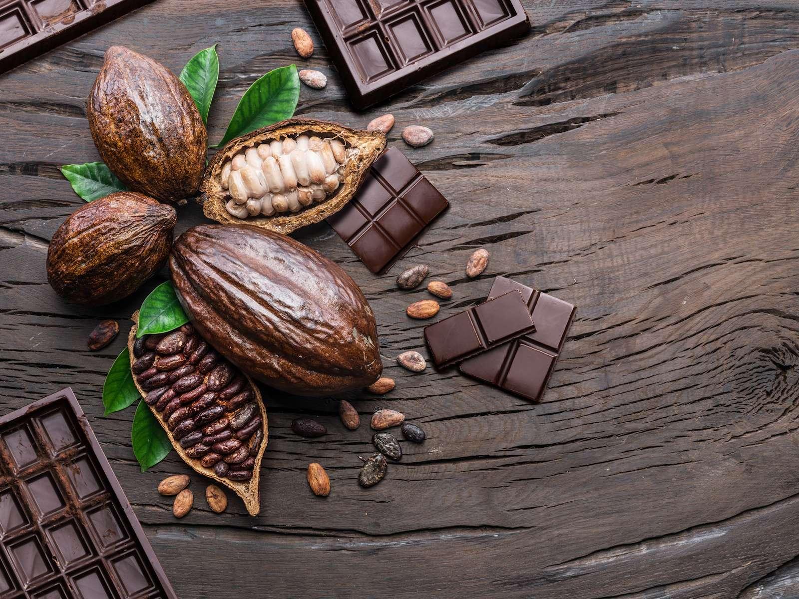Nestlé a mis au point un chocolat sans sucre ajouté à partir de l'enveloppe blanche entourant les fèves de cacao. © volff - Fotolia