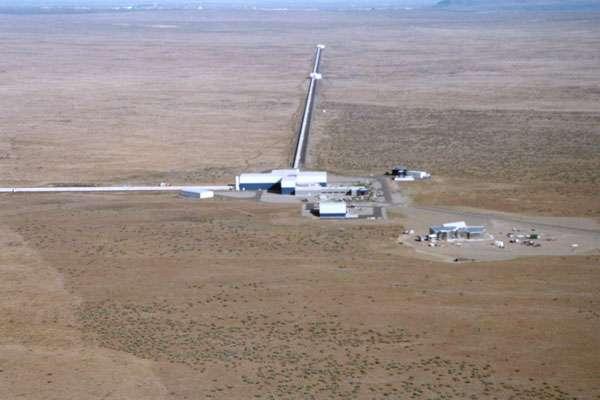 Vue aérienne de Ligo. Crédit : Caltech