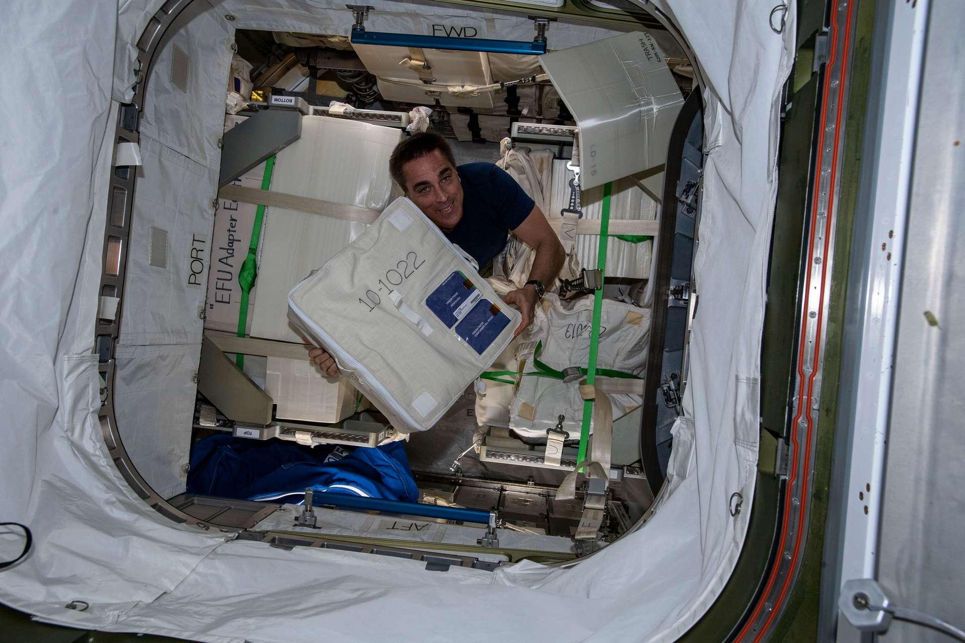 La Station spatiale internationale ne compte que six places pour sept astronautes. © Nasa