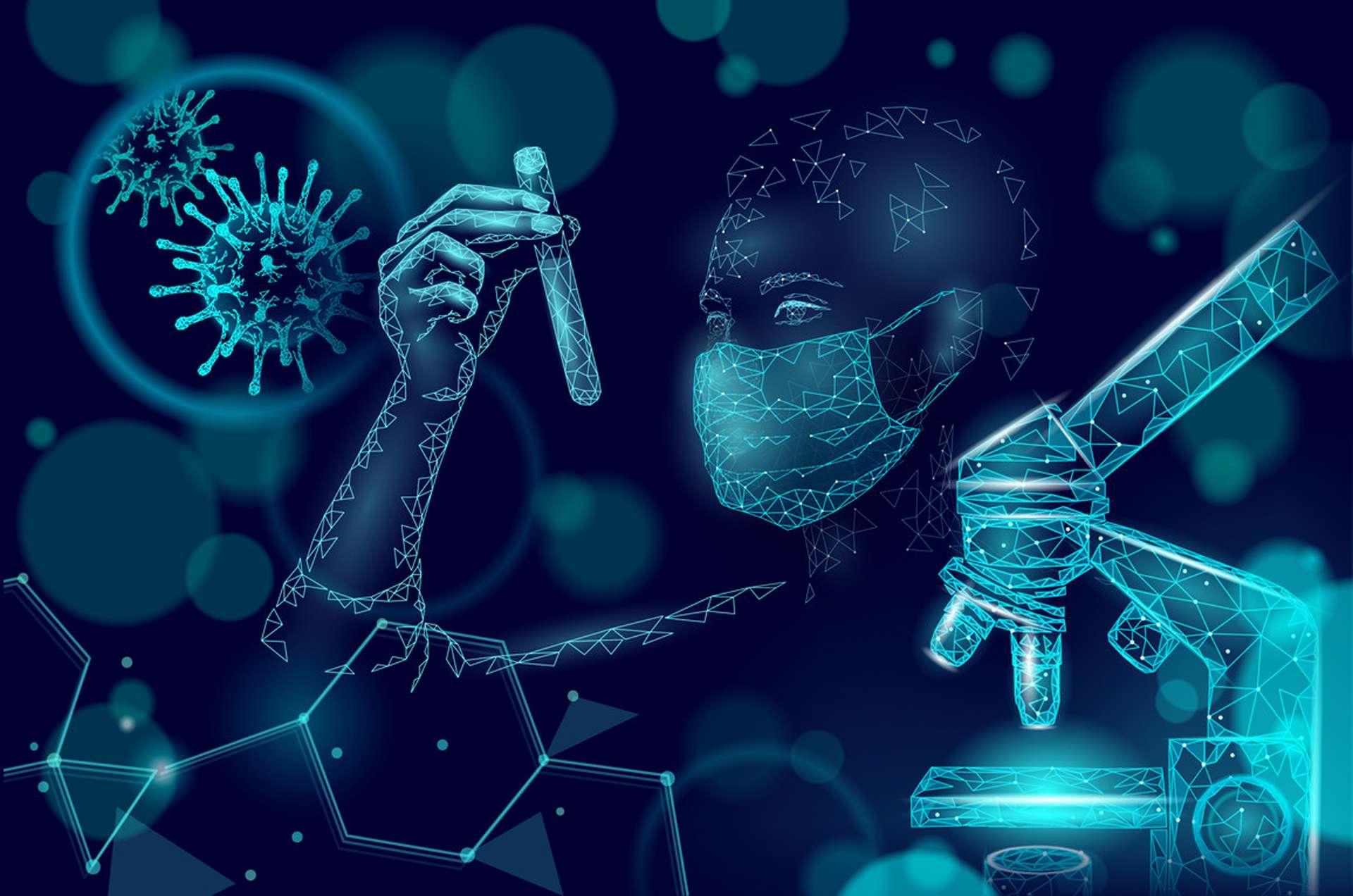 Des corrélations ont été observées entre charge virale et diminution des symptômes chez les infectés à ce nouveau variant mais trop de facteurs de confusions subsistaient encore pour pouvoir tirer des conclusions péremptoires. © A, Adobe Stock