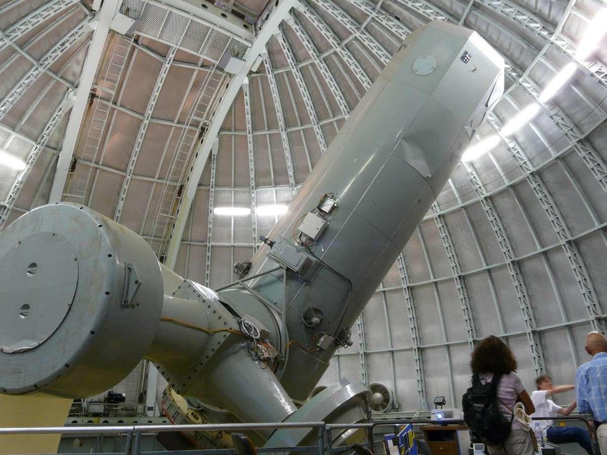 L'observatoire de Haute-Provence est également connu pour abriter un télescope de 193 centimètres qui a servi à découvrir la première exoplanète en 1995. © J.-B Feldmann