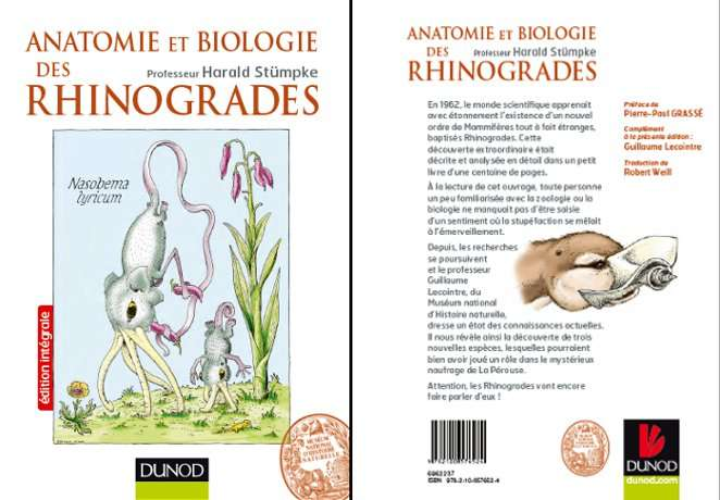 Anatomie et biologie des Rhinogrades de Harald Stümpke. © Dunod