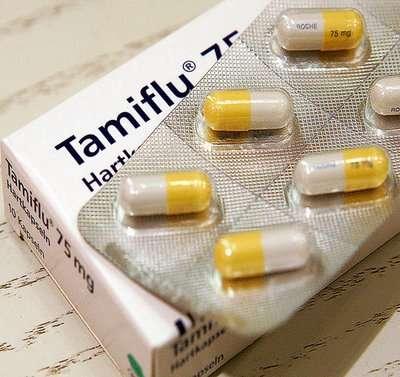Le tamiflu, un des médicaments antiviraux utilisés pour soigner les malades de la grippe. Crédits DR