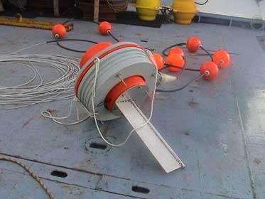 Antenne Argos sur la bouée